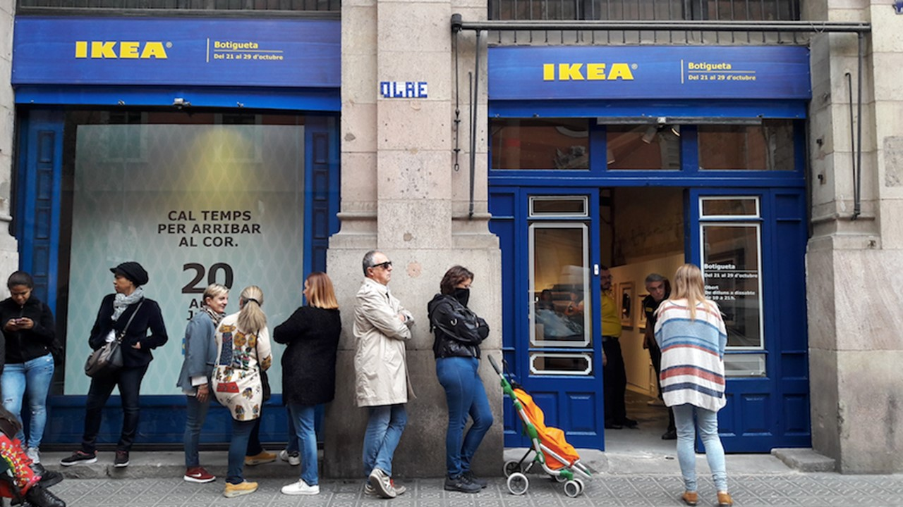 ikea opent pop up in madrid cf retail. Black Bedroom Furniture Sets. Home Design Ideas